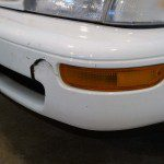 Plastic bumper crack repair - AutoColor WI - Madison WI - Middleton WI