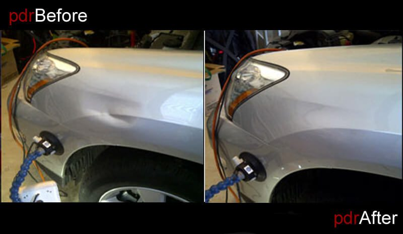 Paintless Dent Repair Dent Removal Madison Wi Auto