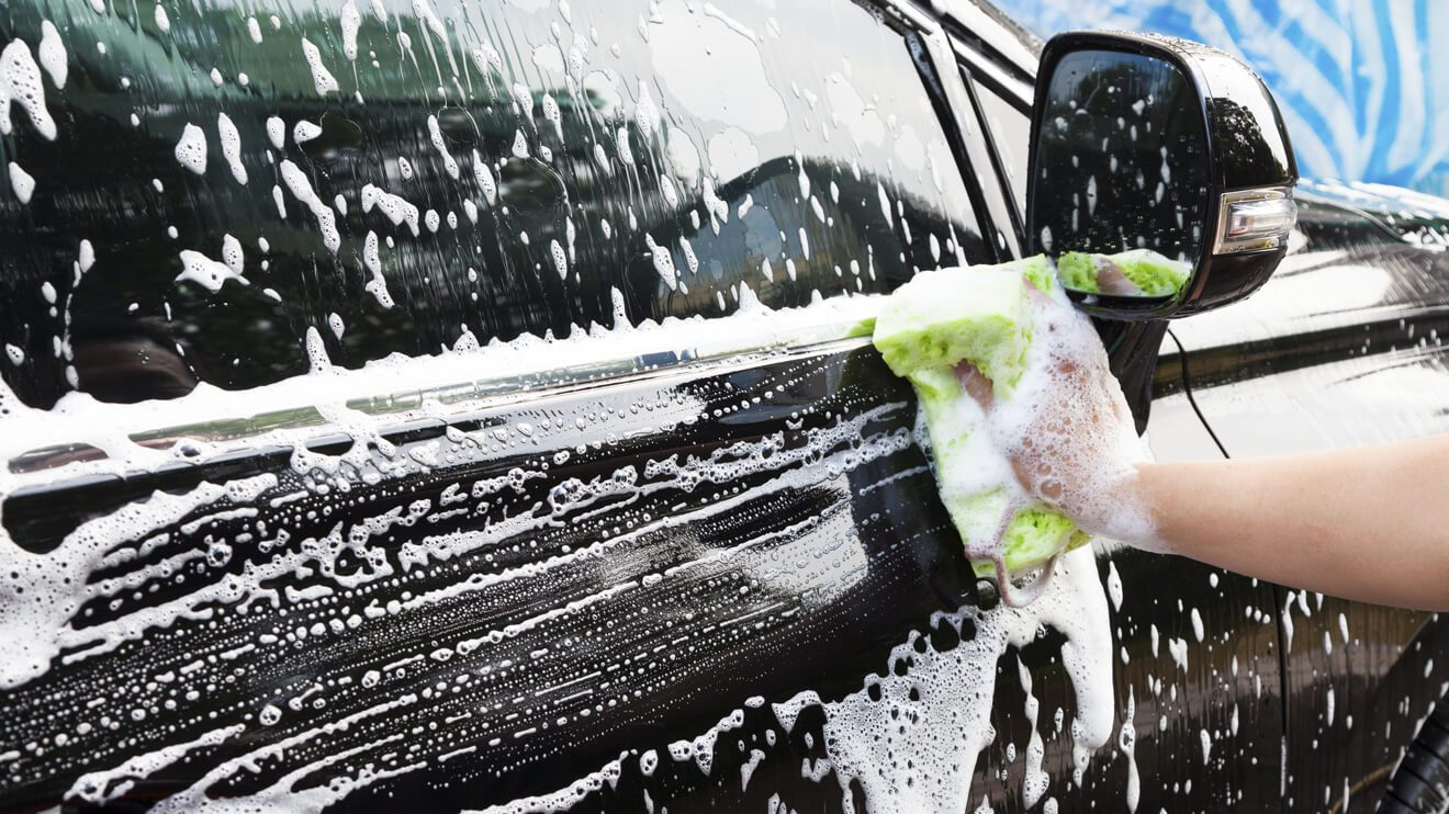Car Wash Protects Auto Body Paint