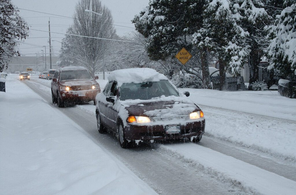 Winter Driving Tips To Help Avoid Auto Body Repairs